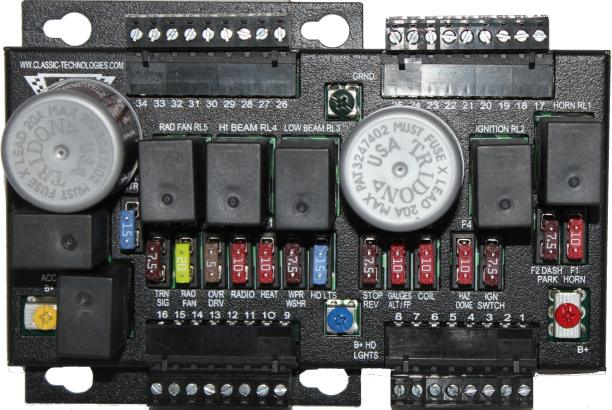 CLASSIC TECHNOLOGIES FUSE BOX fuse box in car restors in car fuse box \u2022 wiring diagrams j automotive fuse box replacement at panicattacktreatment.co