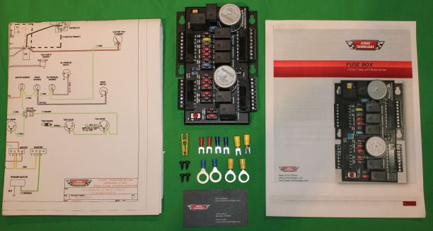 fusebox only kit small classic technologies fuse box small fuse box at panicattacktreatment.co